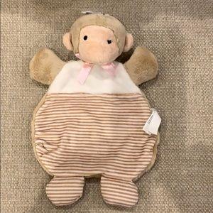 "Pink Monkey Baby Cozy 6.5""x10"""